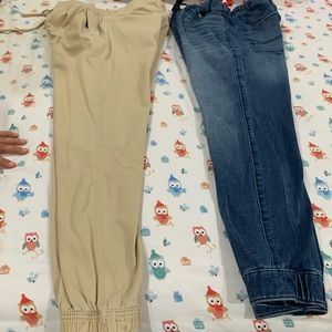 2 Pair of Hollister Joggers